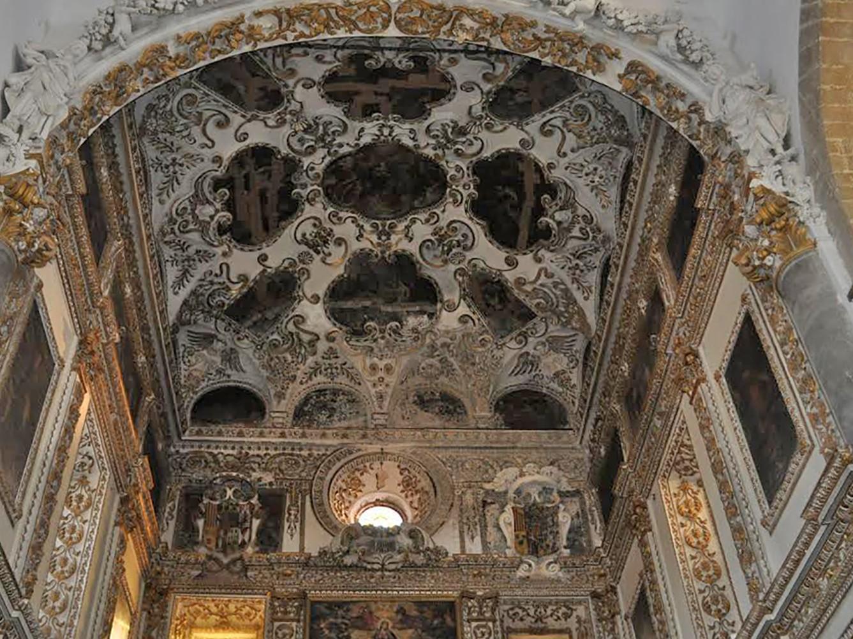 Immagine articolo: CVetrano, raccolti fondi per 30 Mila Euro per restauro affreschi del cappellone. La gioia di Don Undari