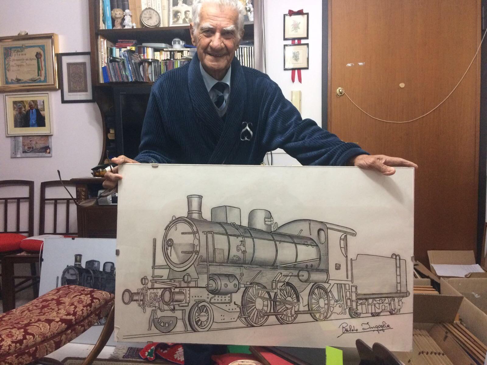 Immagine articolo: Si è spento all'età di 88 anni Baldo Ingoglia, memoria storica delle ex ferrovie di CVetrano e non solo