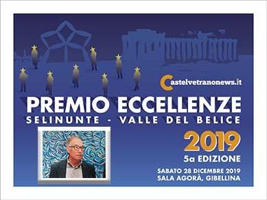 """Immagine articolo: Sabato a Gibellina il """"Premio Eccellenze Selinunte Valle del Belìce"""". Tra i premiati il gibellinese Carlo La Monica"""