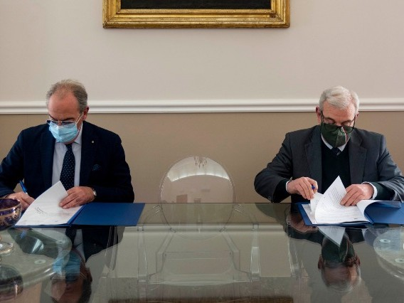 Immagine articolo: Siglato il protocollo d'intesa tra la Prefettura e la Camera di Commercio di Trapani