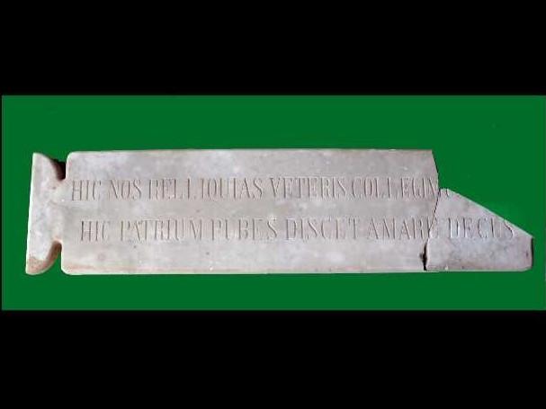 lapide o epigrafe museo civico