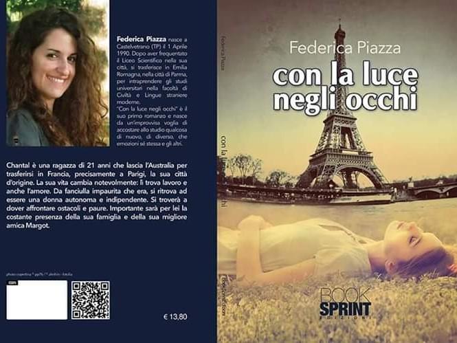 """Immagine articolo: Prestigioso riconoscimento letterario per la giovane scrittrice castelvetranese Federica Piazza. """"Una grande emozione"""""""
