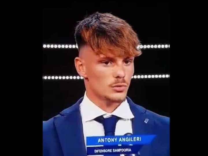 Immagine articolo: Il cvetranese Antony Angileri della Sampdoria Primavera, miglior difensore del campionato negli Sportitalia Awards