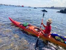 Immagine articolo: Da Selinunte per circumnavigare la Sicilia in kayak. Impresa compiuta per Riccardo