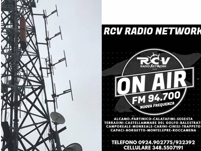 Immagine articolo: Nuove frequenze per Rcv Radio Network. Potenziato ancora il segnale nel palermitano. Intervista a Filippo Tusa