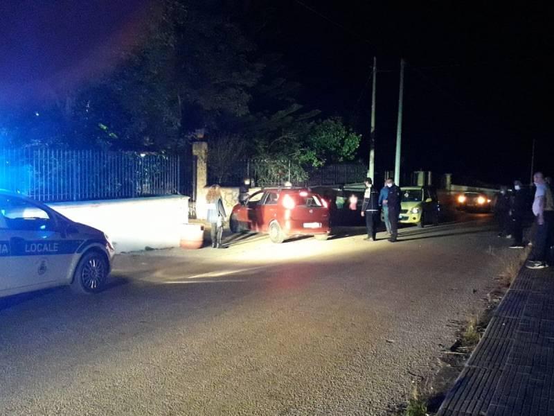 Immagine articolo: CVetrano, scontro tra auto e scooter. Sul posto Ambulanza e Polizia Municipale