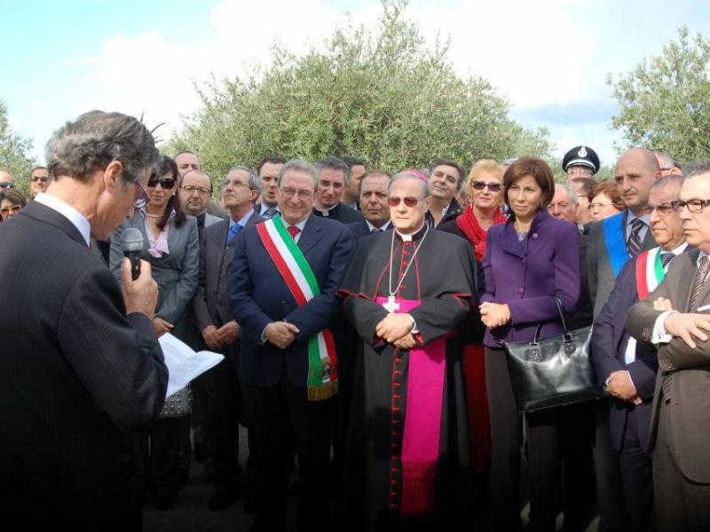 """Inaugurazione via dei """"Prefetti Amari"""""""